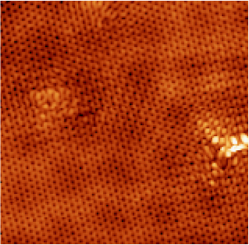 STM imaging of graphene